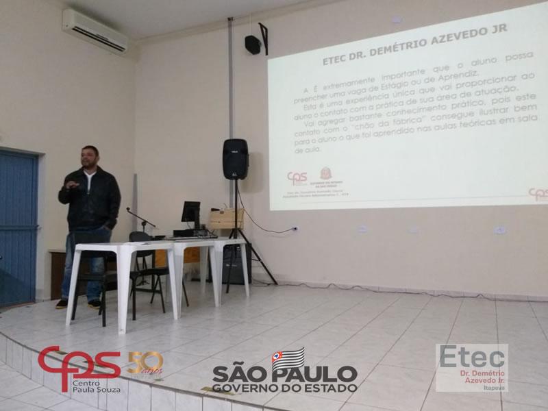 ETEC Dr  Demétrio Azevedo Junior - ITAPEVA/SP